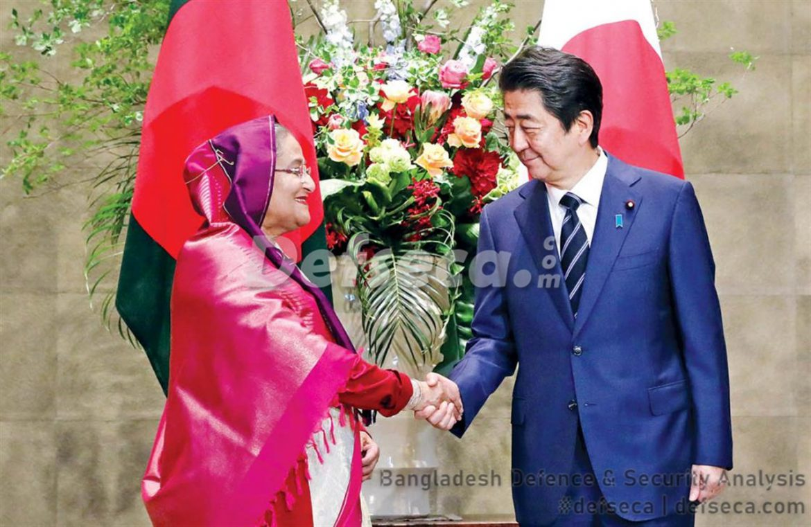 Japan gives largest loan to Bangladesh for development projects