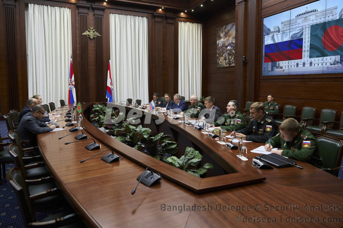 Bangladesh-Russia hold defence cooperation talks