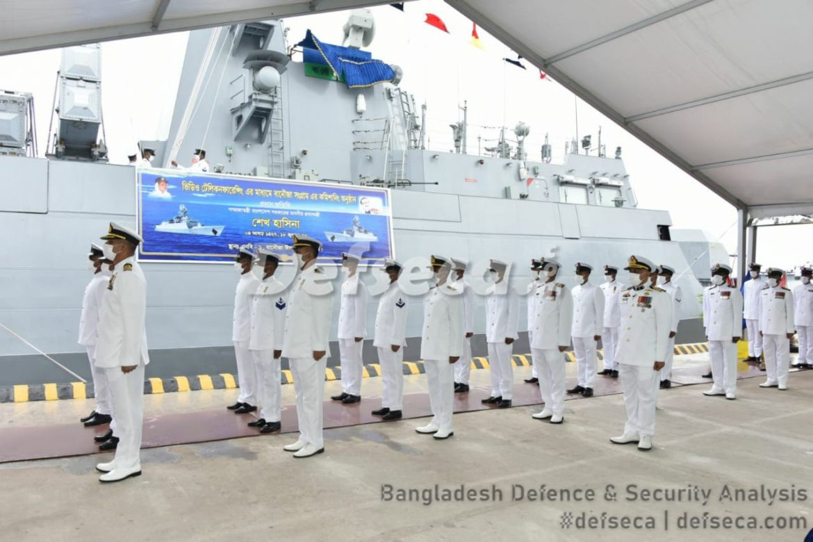 China constructing Bangladesh Navy's ultra-modern submarine base