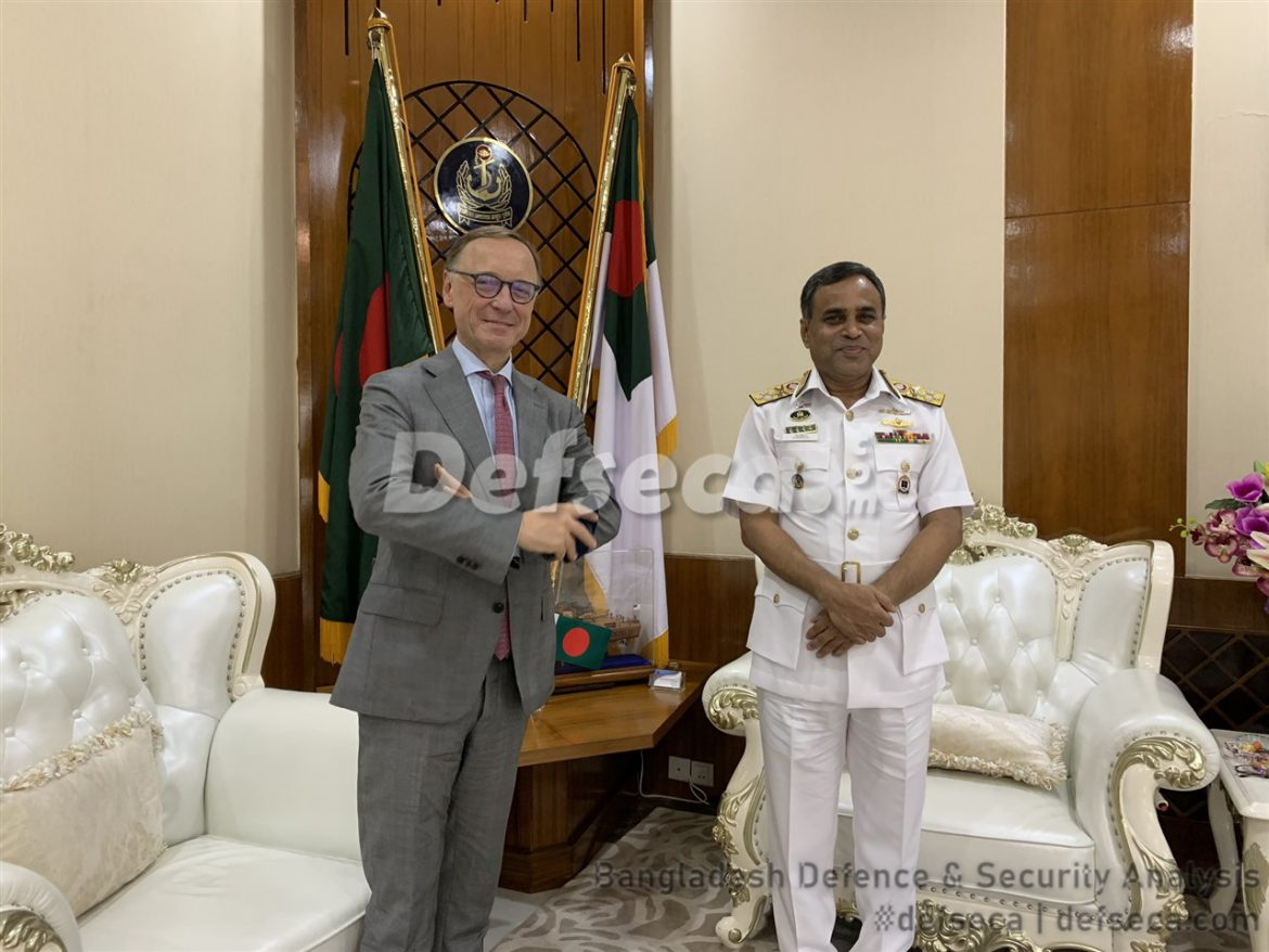 Dutch lobbying for Bangladesh Navy contracts