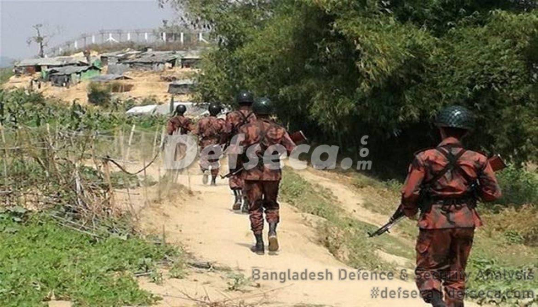 Myanmar accuses Bangladesh of amassing troops along border