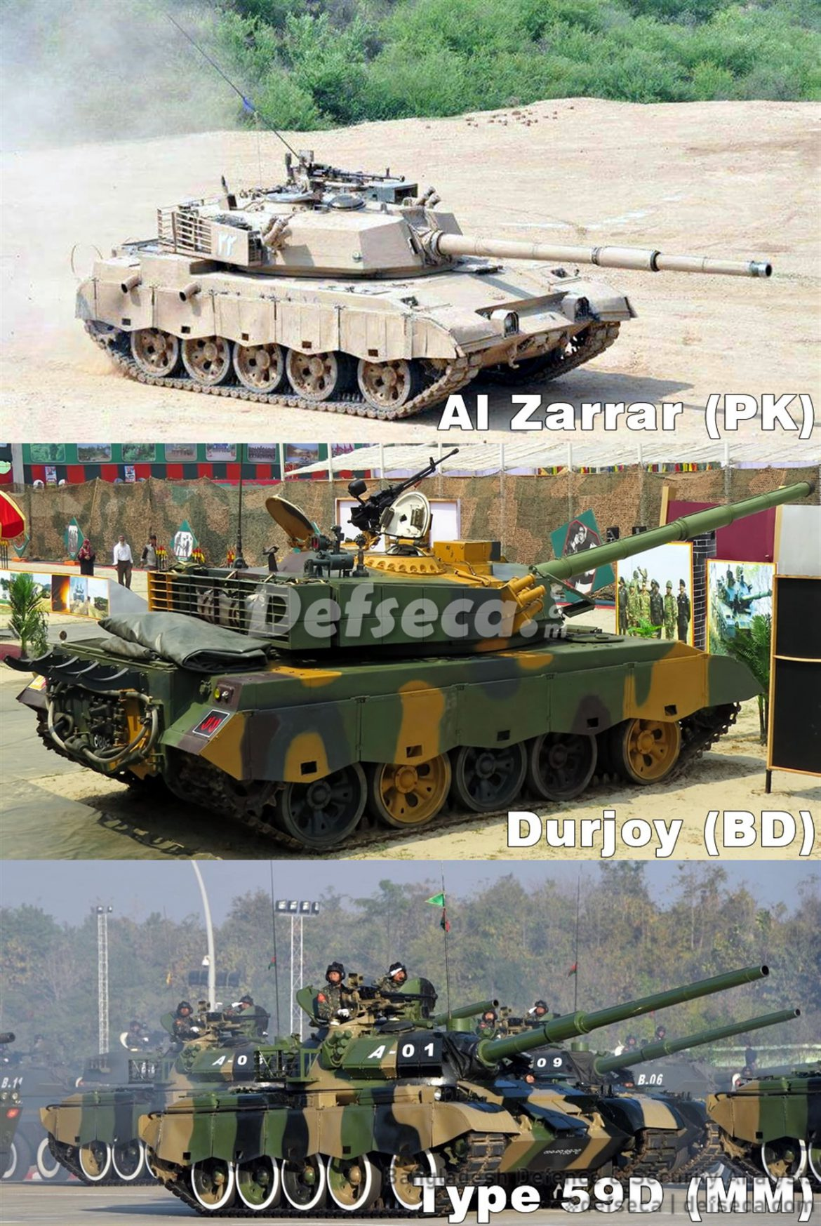 South Asia's Type 59 tanks reviewed