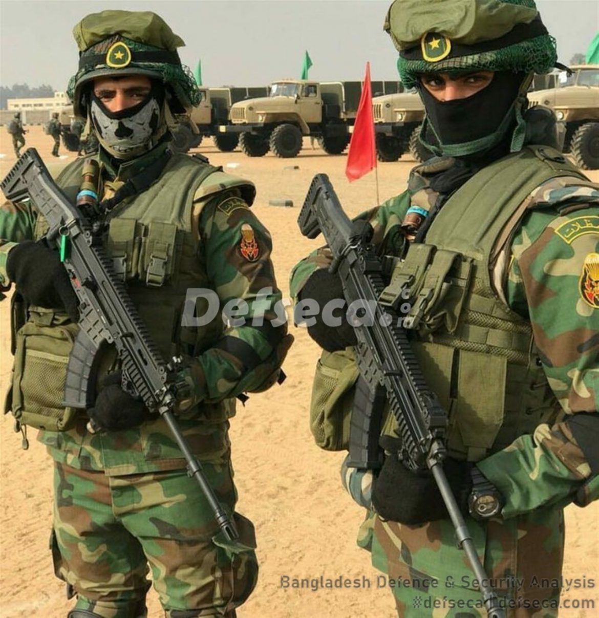 Bangladesh Army gets new assault rifles