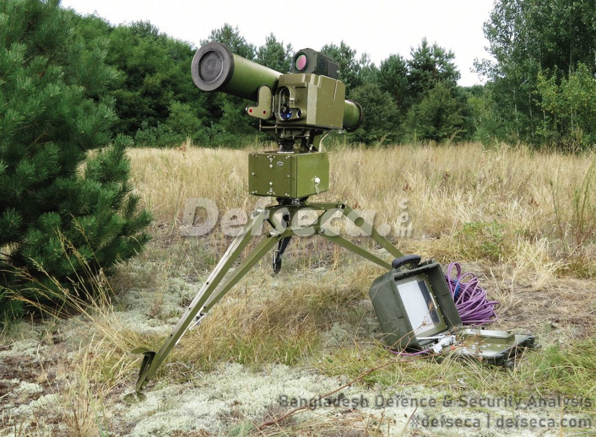 Bangladesh Army standardises Ukranian-made ATGMs