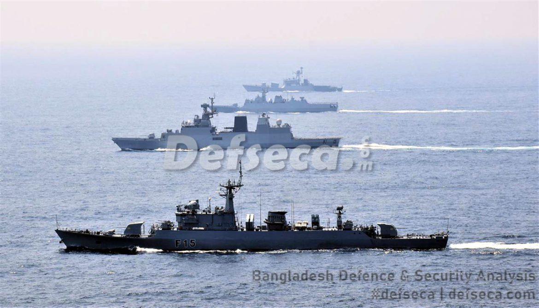 Bangladesh-India conduct CORPAT, Exercise Bongosagor naval exercise