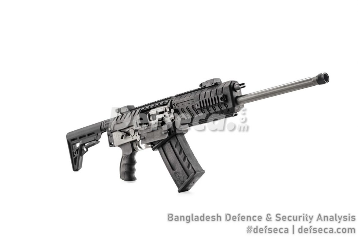 Bangladesh Navy adopts new generation small arms