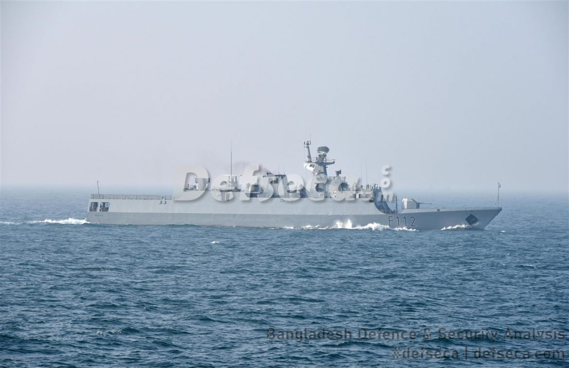 Bangladesh Navy tops up war reserves