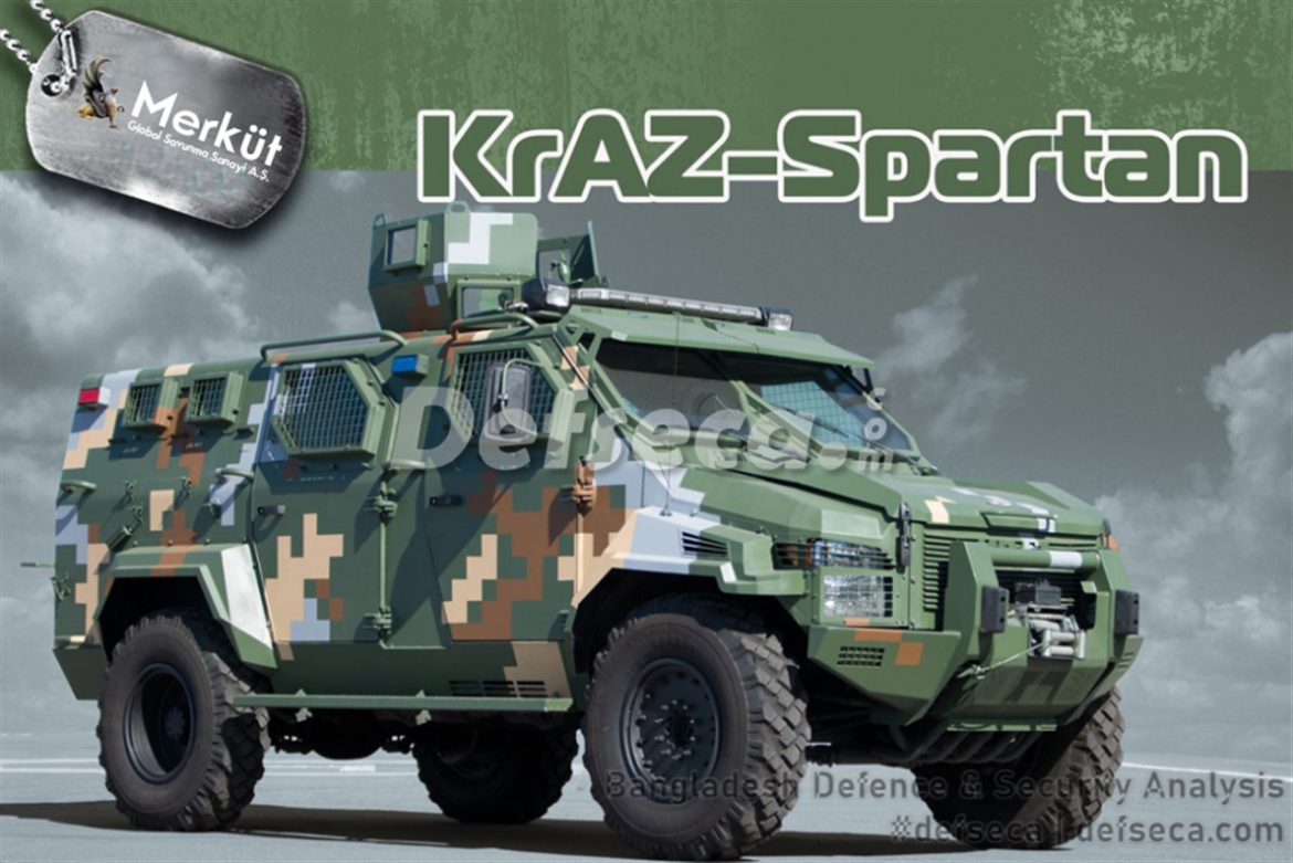 BGB receives KrAZ Spartan APCs from Ukraine
