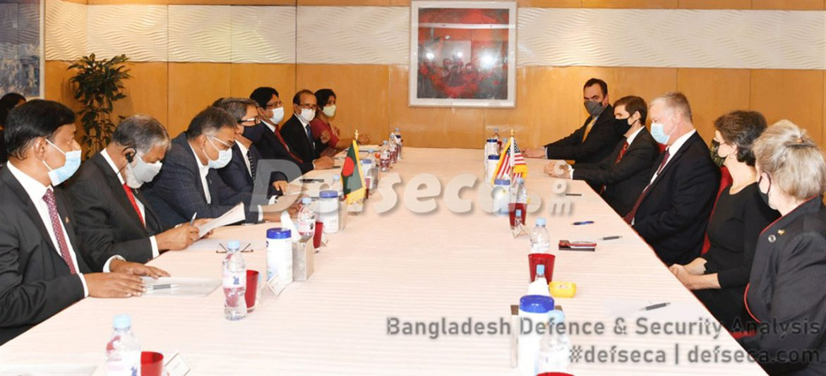 Defence cooperation with US a top priority for Bangladesh