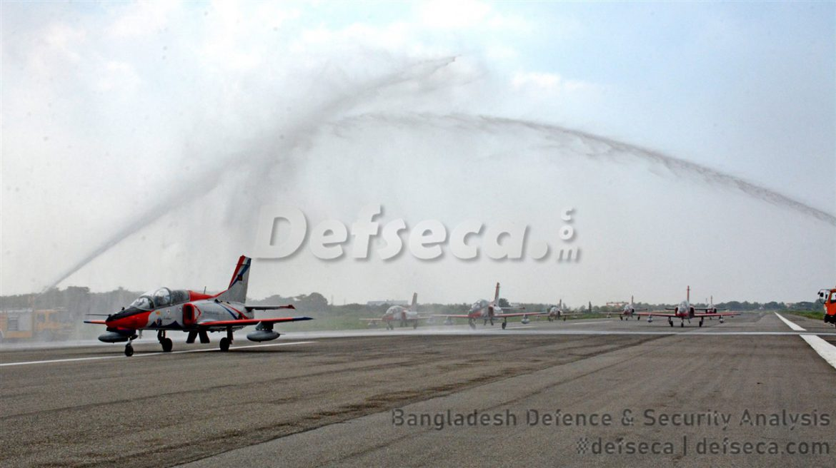 K-8W jet trainers arrive in Bangladesh