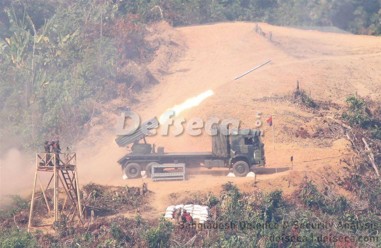 Myanmar conducts airstrikes near Bangladesh