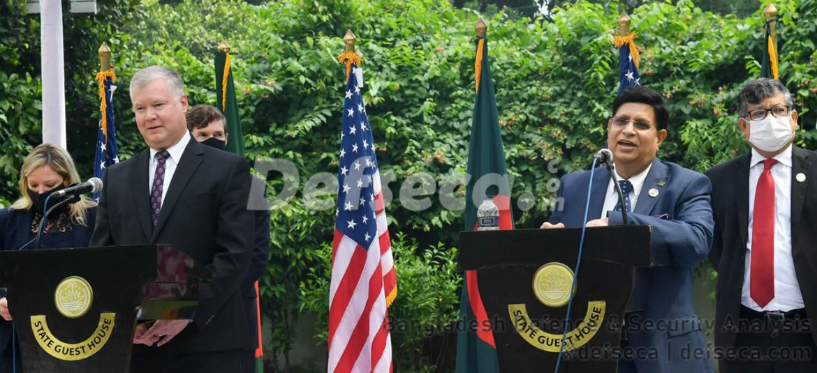 US slams countries for supplying military equipment to Myanmar