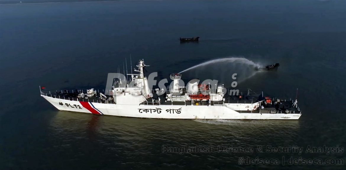 Bangladesh Coast Guard commissions 9 ships, 1 base