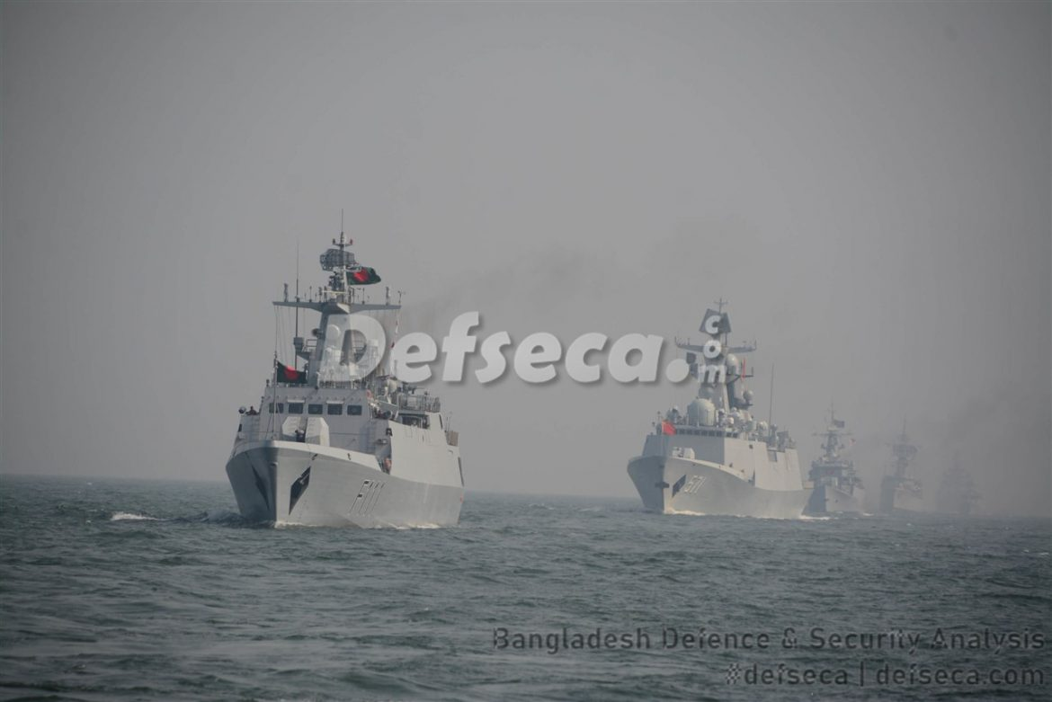 Bangladesh Navy commissions 5 warships in a day