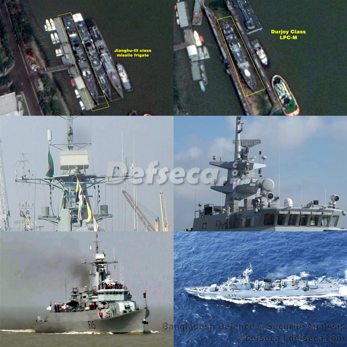 Bangladesh Navy warships undergo extensive refit