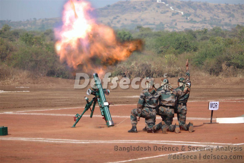 India transfers heavy mortars to the Bangladesh Army