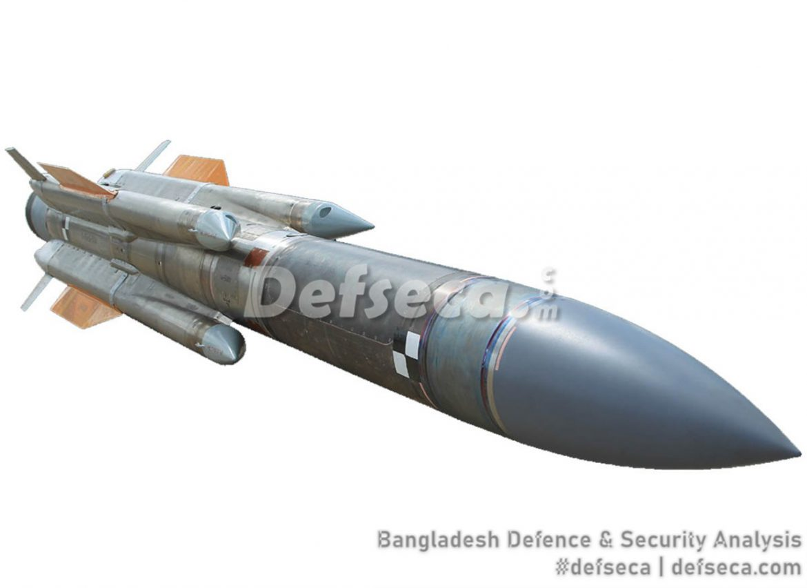 Bangladesh Air Force orders Kh-31A anti-ship missiles