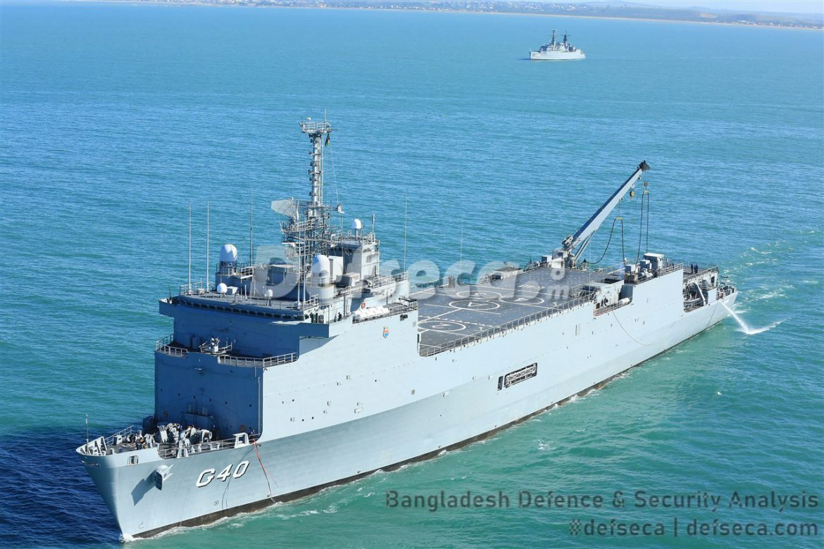 Bangladesh Navy seeks amphibious assault ships