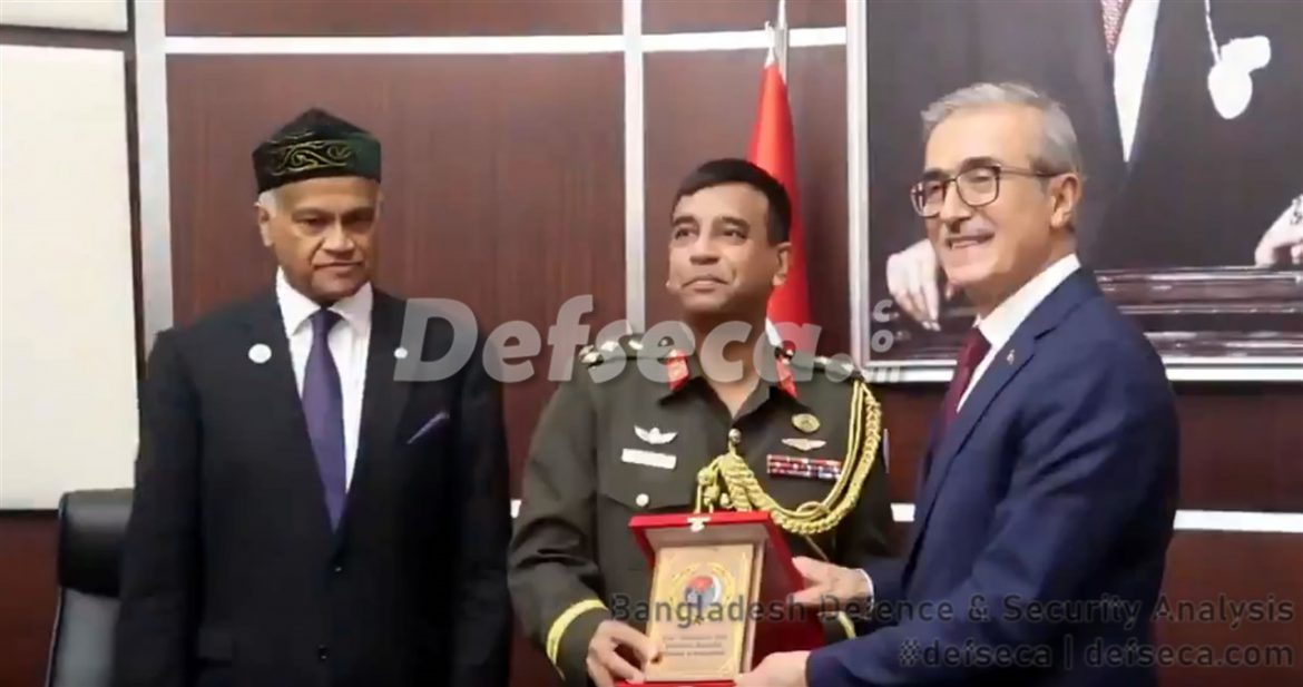 Bangladesh-Turkey sign defence purchase agreements