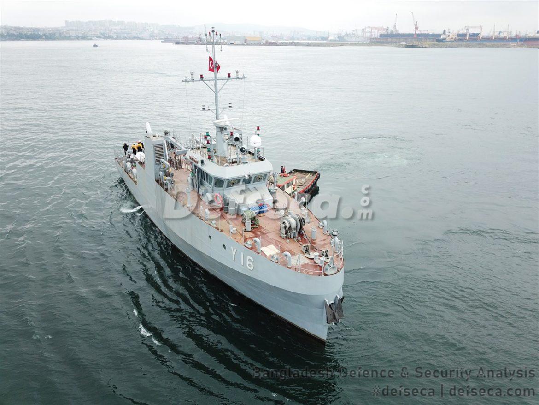 Khulna Shipyard building Turkish designed diving support boats