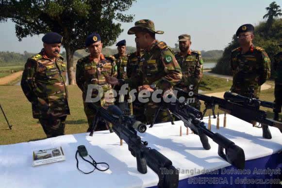 Bangladesh Army standardises Western sniper rifles