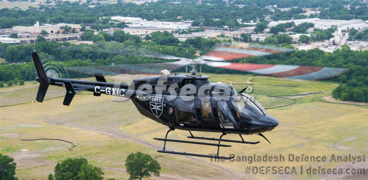 Bangladesh Army wants Bell 407GXi helicopters