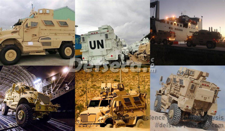 Bangladesh military receives MaxxPro MRAPs from USA