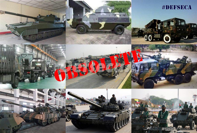 Myanmar defence industries produce obsolete hardware