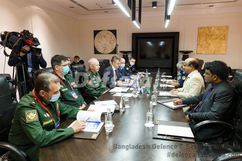 Russia resumes military equipment sales to Bangladesh