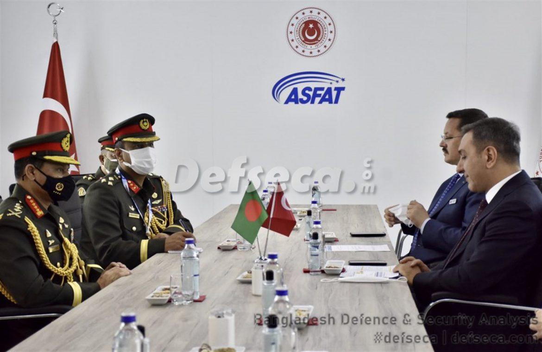 Bangladesh-Turkey defence cooperation increasing