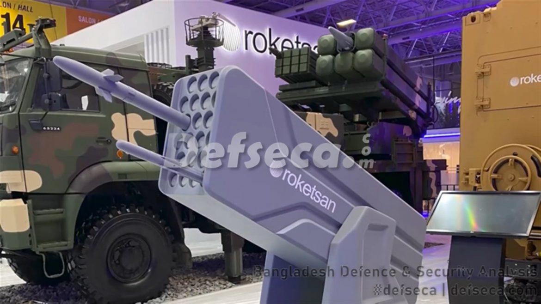 Turkey showcases Bangladesh Army's Tiger missile system