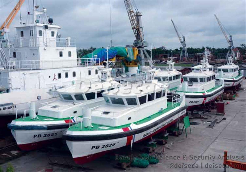 KSY builds 6 high speed boats for Bangladesh Coast Guard